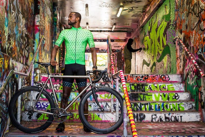Daren Looking Badass With Bike