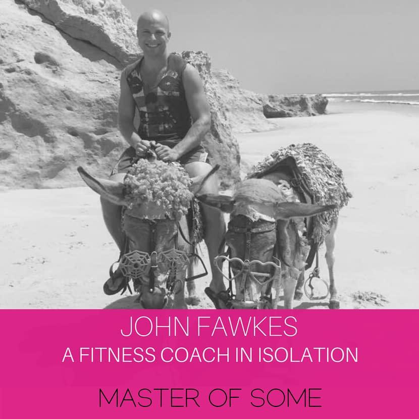 john fawkes on a donkey